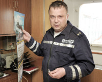 Командир ПМ-63 Виталий Кулик.  Фото Сергея Иевкова