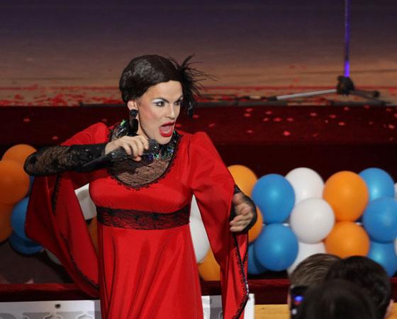 ...и в одном из сценических образов. Фото Валентина Капустина