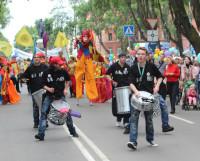 Шествие снова будут возглавлять барабанщики из группы 44DRUMS. Фото Владимира Бербенца