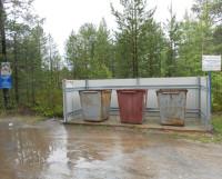 СНТ «Автомобилист» — такой должна быть контейнерная площадка. Фото Андрея Мирошникова