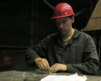 Алексей Марченко на новом месте работы. Фото Олега Перова