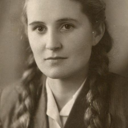 Зинаида Меркурьева.1953 год. Фото из архива З. Меркурьевой