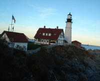 Портлендский маяк. Фото автора