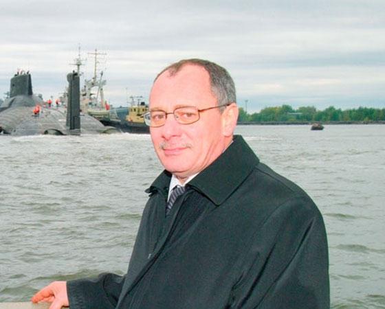 Генеральный  директор  ОАО  «ПО  «Севмаш»  М.А. Будниченко. Фото пресс-службы ОАО «ПО «Севмаш»