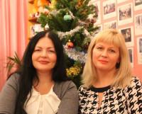 Полина  Ильюшенкова  (слева)  и  Ирина  Шокина. Фото из личного архива