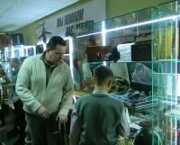 Экскурсии для школьников в музее  Северодвинского отделения общественной организации «Российский союз ветеранов Афганистана» проходят регулярно. Фото автора