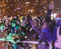 Так встречали Новый год у Центрального универмага. Фото из архива ЦУМа