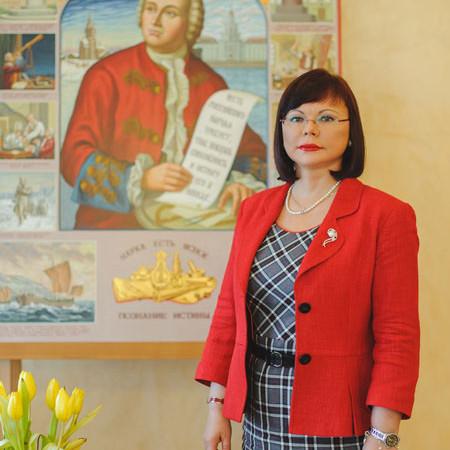 Ректор Северного Арктического федерального университета профессор Е.В. Кудряшова Фото из архива САФУ