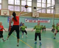 Волейбол  —  самый  массовый  вид  спорта  в  Северодвинске. Фото Марса Биктимирова