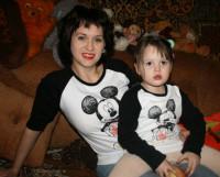 Елена Лещёва и Алеся: «И пусть Микки Маус завидует». Фото из архива Елены Лещёвой