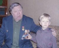 Внукам есть кем гордиться. 2008 год. Фото из домашнего архива