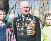 Николай Кубинцев на праздновании Дня Победы в 2012 году. Фото из архива Н.В. Кубинцева