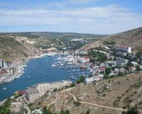 Один  из  красивейших  уголков  Крыма  —  Балаклавская  бухта.  Фото Владимира Тикуса