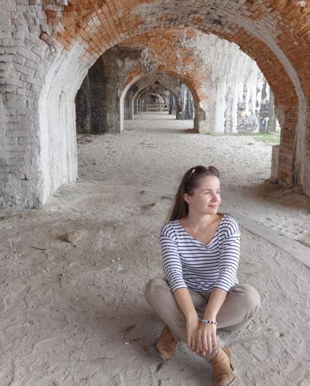 На пересечении эпох. Один из исторических фортов Пенсаколы. Фото Екатерины Курзенёвой