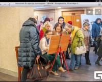 Мастер-класс  на  выставке  в  ЦКиОМ. Фото из архива  «Арт-Деко»
