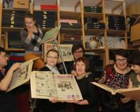 Каждый сотрудник «Северного рабочего» не раз обращался к архивам редакции. Фото Валентина Капустина