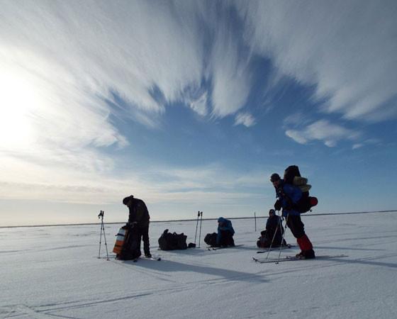 Фото участников экспедиции