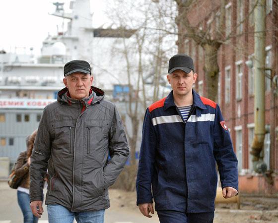 Иван и Николай Гришко: строить корабли — наша профессия. Фото пресс-службы ОАО «ЦС «Звёздочка»