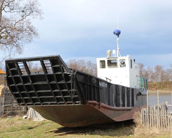 Каботажный флот архипелага в ожидании навигации. Фото Андрея Мирошникова