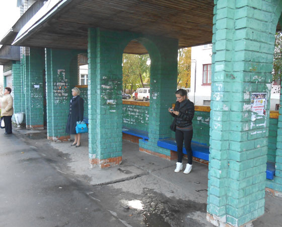 Не избежали нашествия и остановки общественного транспорта. Фото Андрея Мирошникова