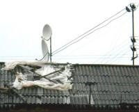 Дом 6 по улице Мира — первенец капремонта — 25—27 сентября заливало дождем через открытую крышу.  Фото Андрея Мирошникова