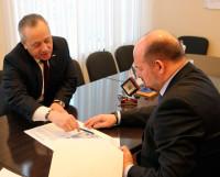 Строительство нового дома в Северодвинске — один из вопросов встречи губернатора и мэра.