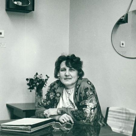 Надежда Григорьевна Лютикова. 1990 год. Фото из личного архива Надежды Лютиковой
