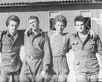 С. Иванов (второй справа): «В Афганистане воевали ребята из простых семей».