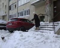 Ул. Южная, 20: «Снег выпадает не впервые!».  Фото автора