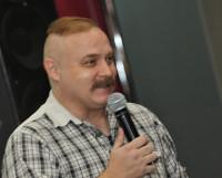 Выступает Андрей Белянин. Фото Валентина Капустина