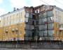 Разрушенный дом на главном проспекте портит общее впечатление от города.,