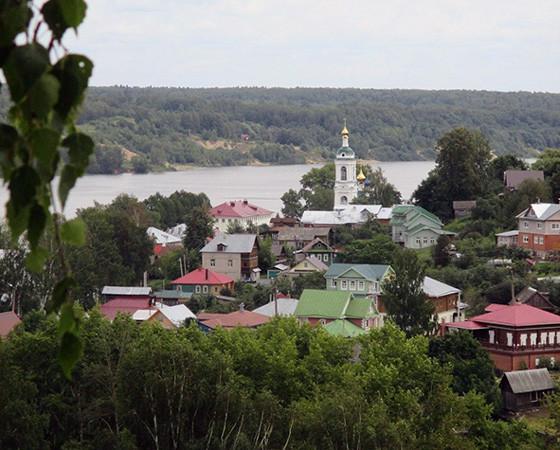Уютный и живописный волжский городок Плёс. Фото автора