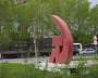 Советский символ у дороги. Фото автора