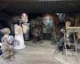 Декорации фильма «Вий» наводят реальный ужас на посетителей. Фото автора