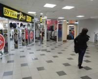 Летом торговые центры пустеют. Люди едут на природу, а не в магазины. Фото Валентина Капустина