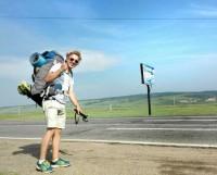 70-литровый рюкзак — главный спутник Артёма во время всего путешествия.