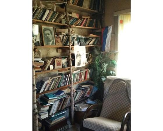 Интерьер «дома поэтов».