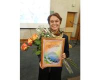 Людмила Грибанова, победитель конкурса.  Фото автора