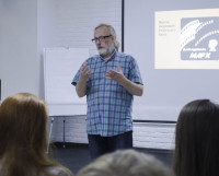 Владимир Архипов, руководитель студии «МАРК», рассказывает о завораживающем мире кино. Фото автора