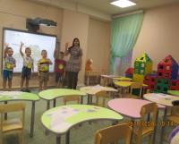 Холл-центр детского сада «Яблонька», где студенты, будущие педагоги-психологи, проходят практику с использованием ИКТ.              Фото из архива детского сада «Яблонька»