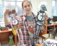 Юлия Корельская и её персонажи. Кто только не живёт в библиотеке! Фото автора