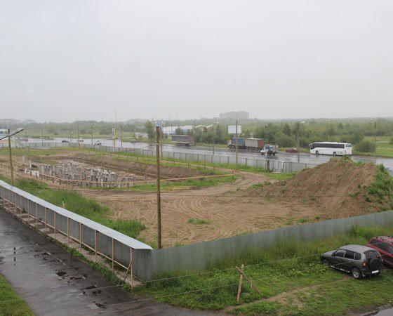 Осень 2016-го. Вот и всё, что смог построить трест «Мордовпромстрой». Фото автора