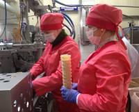 Производственные мощности ОАО «Бабушкина крынка» позволяют перерабатывать до двух тысяч тонн молока в сутки. Фото автора