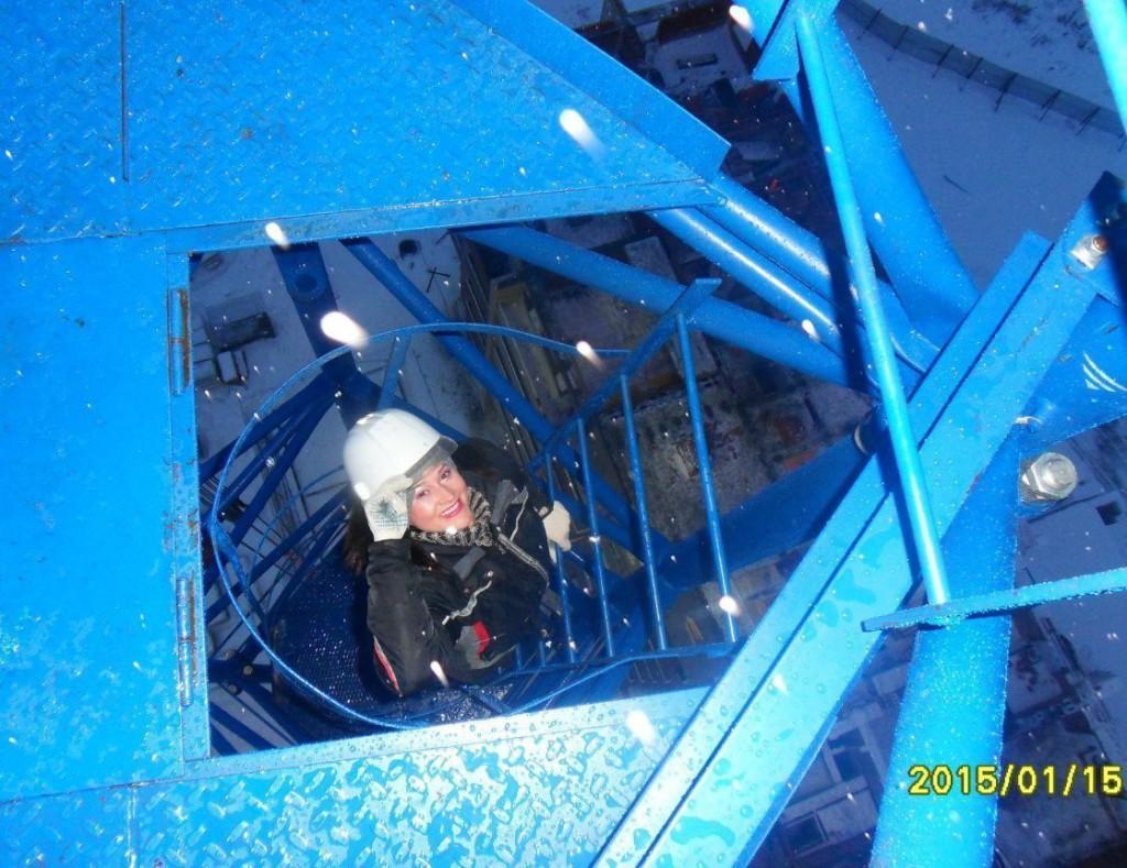 Наталья проходила стажировку в Вологде. Один из рабочих моментов. Фото из архива Натальи Ворониной