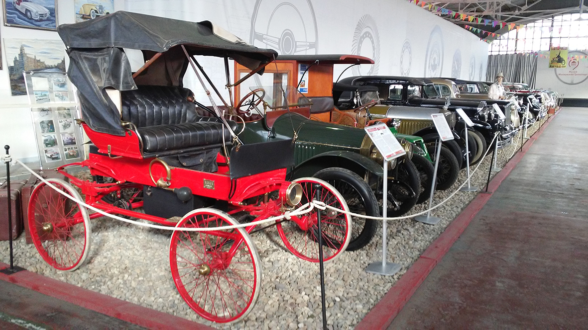 История в четырёх колёсах