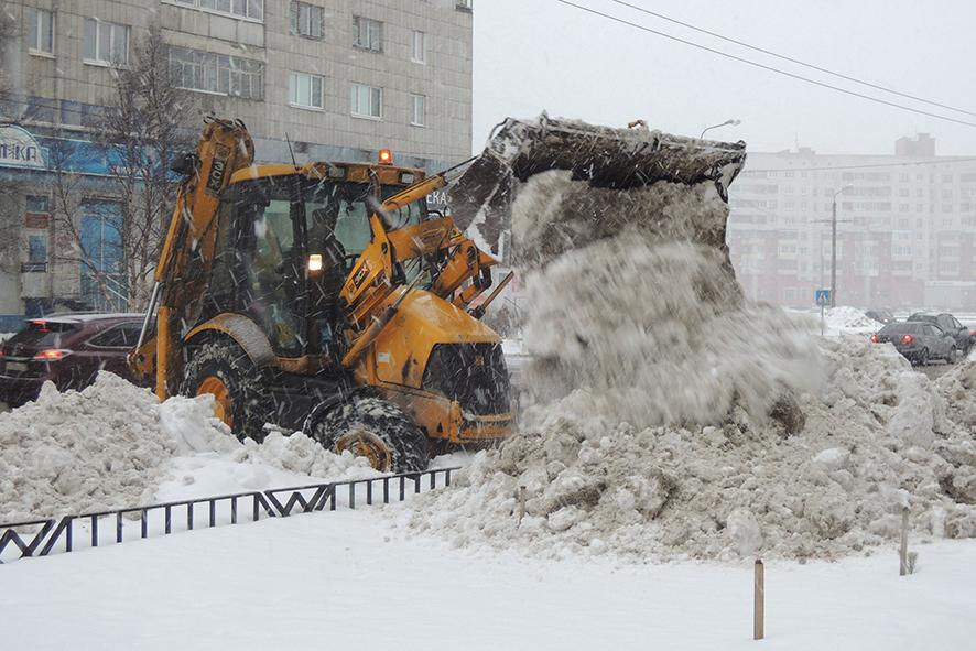 В городке, занесённом снегом