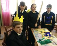 Светоотражающий костюм, подготовленный командой кадетской школы «Крепость», напоминал рыцарские доспехи. Фото автора
