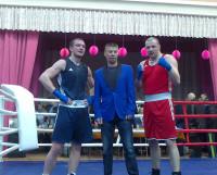 Фото на память с чемпионом мира Игорем Ружниковым (в центре). Фото автора