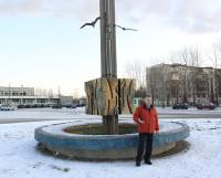 Несколько лет назад северодвинец Сергей Шарухин предлагал проект восстановления фонтана на привокзальной площади. Фото Валентина Капустина