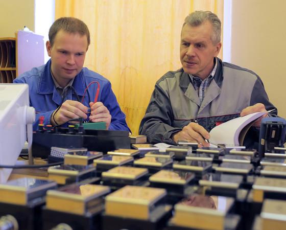 Никита Зубов и его наставник Николай Трофимов. Фото Олега Перова